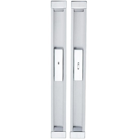 300mm Recessed Handle Integrated With Privacy Lock
