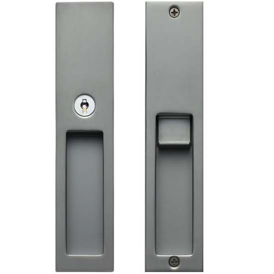 Recessed handle integrated with Cylinder lock | Products | KAWAJUN ...