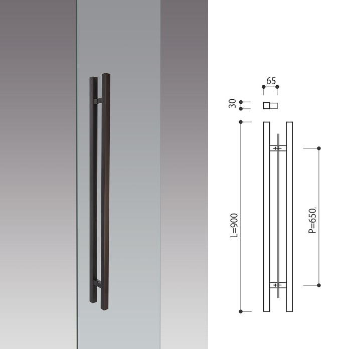 Door Pull Handle L900mm Products Kawajun Japanese