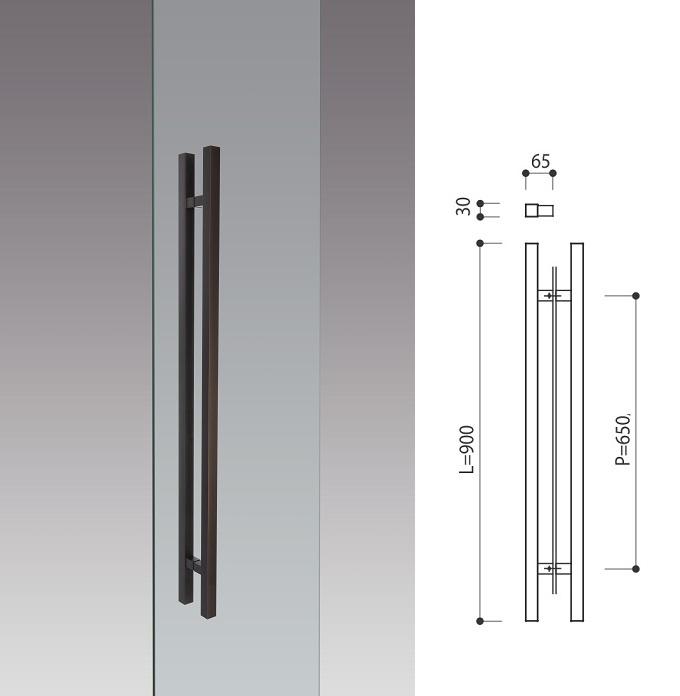 Door Pull Handle L900mm Products Kawajun Japanese
