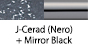 J-Cerad(Nero) & Mirror Black